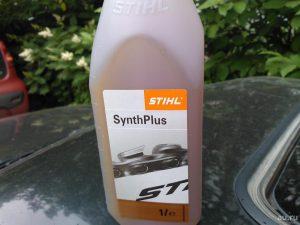 Какое масло для шины бензопилы