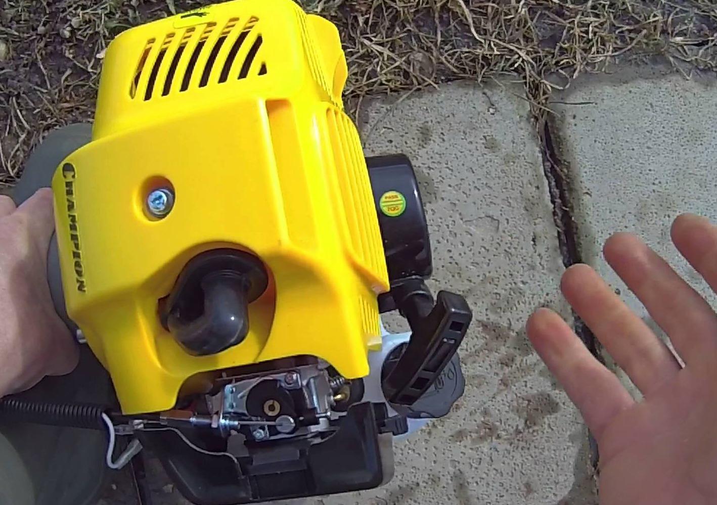 Воздушный фильтр триммера своими руками фото 625